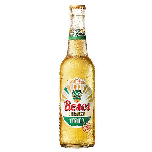 Besos Cerveza Tequila 33cl